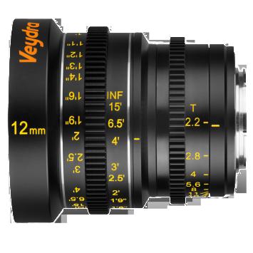 Veydra Lenses M4/3 Mini Prime 12mm T2.2