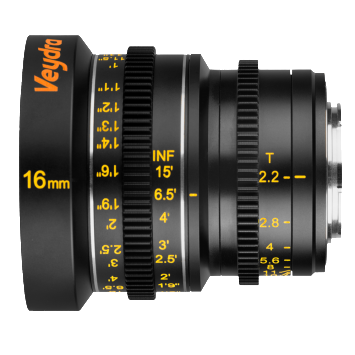 Veydra Lenses M4/3 Mini Prime 16mm T2.2