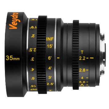 Veydra Lenses M4/3 Mini Prime 35mm T2.2