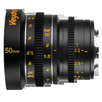 Veydra lenses M4/3 Mini Prime 50mm T2.2