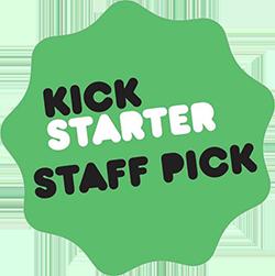 Veydra Lenses kickstarter staff pick badge