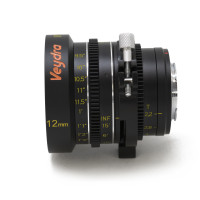 Veydra 12mm T2.2 Mini Prime with Universal Lens Support