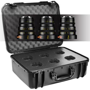 Veydra 3 Mirrorless Mini Prime 3 lens E Mount set with hard case