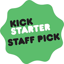 Veydra Lenses kickstarter staff pick badge