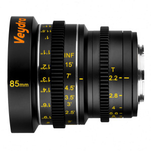 Veydra Lenses M4/3 Mini Prime 85mm T2.2