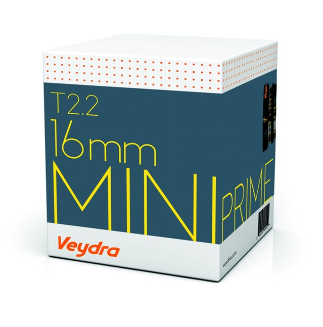 Veydra Lenses Micro 4/3 Mini Prime Box